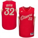 Los Angeles Clippers &32 Blake Griffin 2015 Weihnachten Tag Rot Günstig Basketball Trikots
