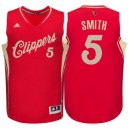 Los Angeles Clippers &5 Josh Smith Rot 2015 Weihnachten Tag Swingman Günstig Basketball Trikots