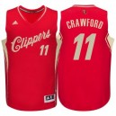 Los Angeles Clippers &11 Jamal Crawford Rot 2015 Weihnachten Tag Swingman Günstig Basketball Trikots