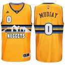 Emmanuel Mudiay Denver Nuggets &0 neue Swingman Alternate Gold Günstig Basketball Trikots