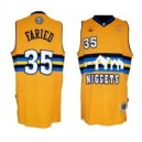 Denver Nuggets &35 Kenneth Faried Swingman Gold Günstig Basketball Trikots