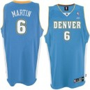 Denver Nuggets &6 Kenyon Martin Powder Blau Swingman Günstig Basketball Trikots