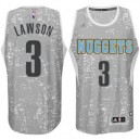 Denver Nuggets &3 Ty Lawson City Lights graue Swingman Günstig Basketball Trikots