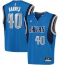 Harrison Barnes Dallas Mavericks adidas Replikat Trikot - Blau