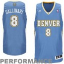 Danilo Gallinari Denver Nuggets adidas Jugend Swingman Away Trikot - Powder Blau