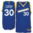 Stephen Curry Golden State Warriors adidas Stretch Crossover Swingman Trikot - Royal