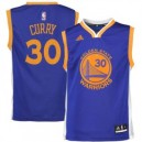 Stephen Curry Golden State Warriors adidas Jugend Straße Replikat Trikot - Royal Blau