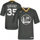 Kevin Durant Golden State Warriors adidas Replikat Basketball Alternative Trikot - Charcoal