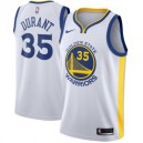 Nike Kevin Durant Golden State Warriors White Swinger Trikots-Association Edition