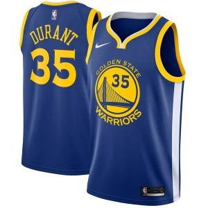 Nike Kevin Durant Golden State Warriors blau swingman Trikots-Icon Edition