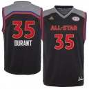 Kevin Durant adidas Jugend 2017 NBA All-Star Game Replikat Trikot - Charcoal