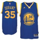 Kevin Durant Golden State Warriors adidas Straße Swingman Trikot - Royal