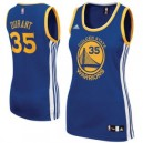 Kevin Durant Golden State Warriors adidas Damen Straße Replikat Trikot - Royal