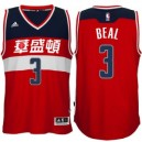Bradley Beal Washington Wizards &3 Rot 2016 Chinese neue Year Günstig Basketball Trikots