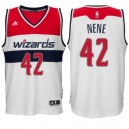 Washington Wizards &42 Nene Hilario neue Swingman Weiß Günstig Basketball Trikots