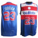 Washington Bullet &23 Michael Jordan Soul Swingman Road Günstig Basketball Trikots