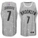 Brooklyn Nets &7 Joe Johnson City Lights graue Swingman Günstig Basketball Trikots