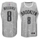 Brooklyn Nets &8 Deron Williams City Lights graue Swingman Günstig Basketball Trikots