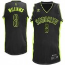 Brooklyn Nets Deron Williams NBA Fashion Electricity Swingman Günstig Basketball Trikots