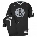 Brooklyn Nets &7 Joe Johnson 2013 Weihnachten Tag Günstig Basketball Trikots