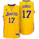 Los Angeles Lakers Roy Hibbert neue Swingman Startseite Gold Günstig Basketball Trikots