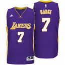 Los Angeles Lakers Larry Nance neue Swingman Road Purple Günstig Basketball Trikots