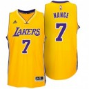 Larry Nance Los Angeles Lakers neue Swingman Startseite Gold Günstig Basketball Trikots
