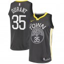 Kevin Durant Golden State Warriors Nike swingman Trikots Black-Statement Edition