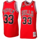 Mitchell & Ness Scottie Pippen Chicago Bulls 1997-1998 Throwback authentische Trikots-rot
