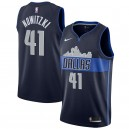Dirk Nowitzki Dallas Mavericks Nike swingman Trikots-Statement Edition – Navy
