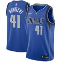 Dirk Nowitzki Dallas Mavericks Nike swingman Trikots Royal-Icon Edition
