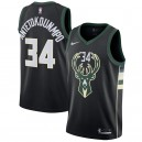Giannis antetokounmpo Milwaukee Bucks Nike swingman Trikot-Statement Edition – schwarz