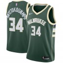 Giannis antetokounmpo Milwaukee Bucks Nike swingman Trikot Green-Icon Edition