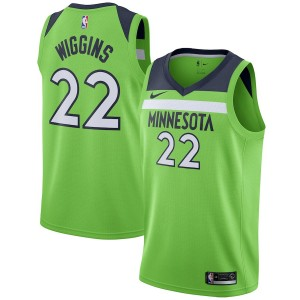 Andrew Wiggins Minnesota Timberwolves Nike swingman Trikot-Statement Edition – grün