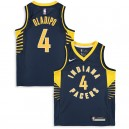 Nike Victor Oladipo Indiana Pacers Youth Navy swingman Trikot