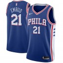 Joel embiid Philadelphia 76ers Nike swingman Trikot Blue-Icon Edition