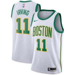 Kyrie Irving Boston Celtics Nike 2018/19 Swingman Trikot – Weiß