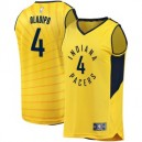 Herren Victor Oladipo Gold Indiana Pacers fast Break Spieler Trikots-Statement Edition