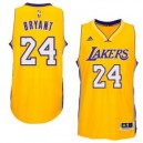 Kobe Bryant Los Angeles Lakers adidas Player Swingman Haus Trikot - Gold