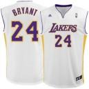 Kobe Bryant Los Angeles Lakers adidas Replikat Alternative Trikot - Weiß