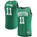 Branded Kyrie Irving Boston Celtics Kelly Green fast Break Spieler Trikots