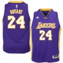 Kobe Bryant Los Angeles Lakers adidas Jugend 2014-15 New Swingman Straße Trikot - Lila