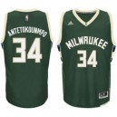 Giannis Antetokounmpo Milwaukee Bucks Jugend Straße Swingman Trikot - Hunter Green