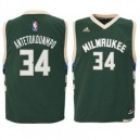 Giannis Antetokounmpo Milwaukee Bucks adidas Preschool Replikat Trikot - Hunter Green