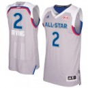 Kyrie Irving Eastern Conference adidas 2017 NBA All-Star Game Swingman Trikot - Gray