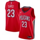 Nike Anthony Davis New Orleans Pelicans Red Swinger Trikots-Statement Edition