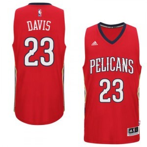 Anthony Davis New Orleans Pelicans adidas Player Swingman Trikot - Rot