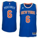 Kristaps Porzingis New York Knicks adidas Swingman Trikot - Royal