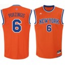 Kristaps Porzingis New York Knicks adidas Modus Replikat Trikot - Orange