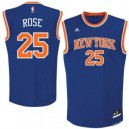 Derrick Rose New York Knicks adidas Replikat Trikot - Royal